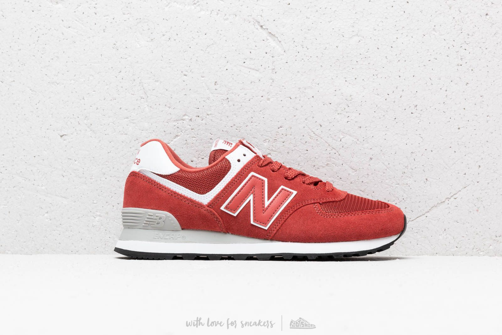official photos c7fb8 48d96 New Balance 574 Red/ White | Footshop