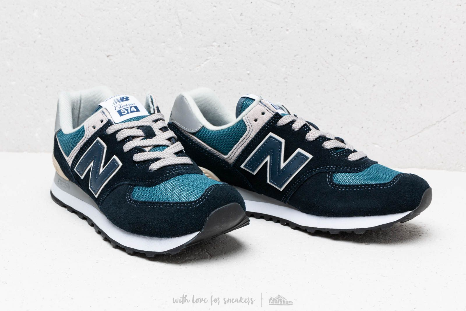 Footshop New Grey Balance Navy 574 Green A0Sw0qPU