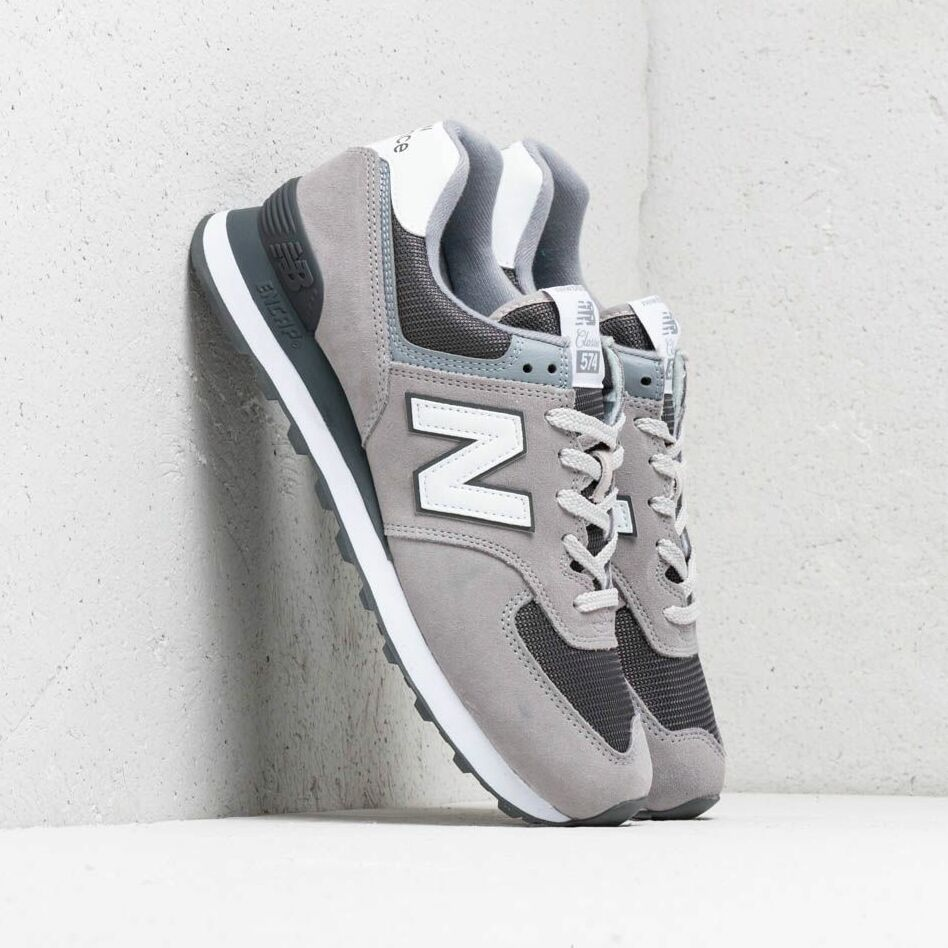 New Balance 574 Grey/ White EUR 46