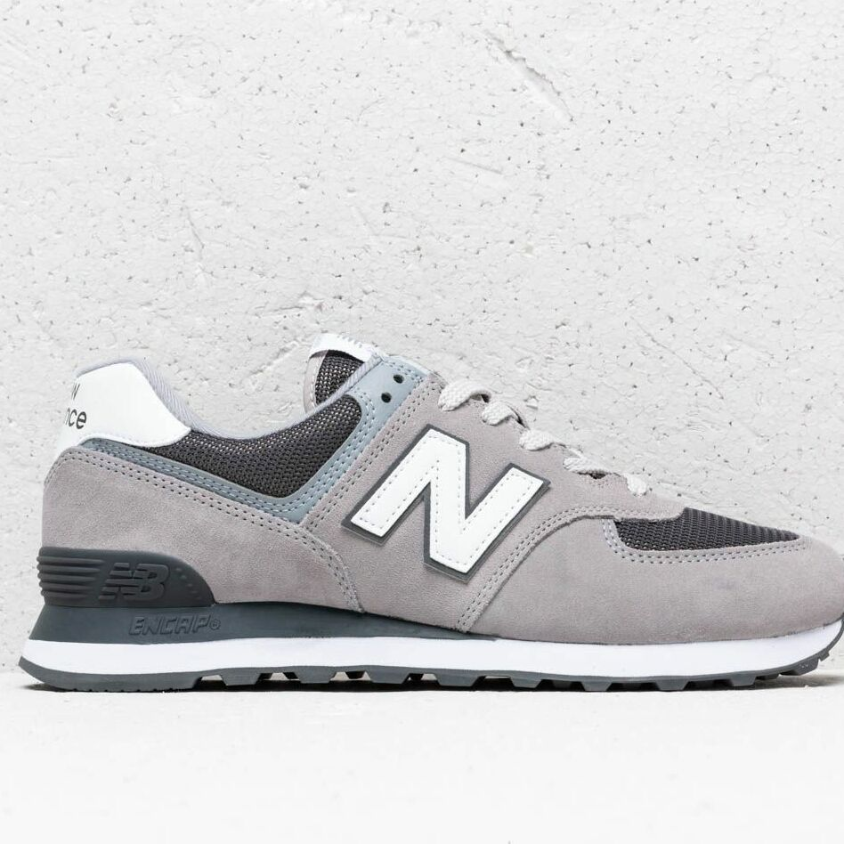 New Balance 574 Grey/ White, Gray