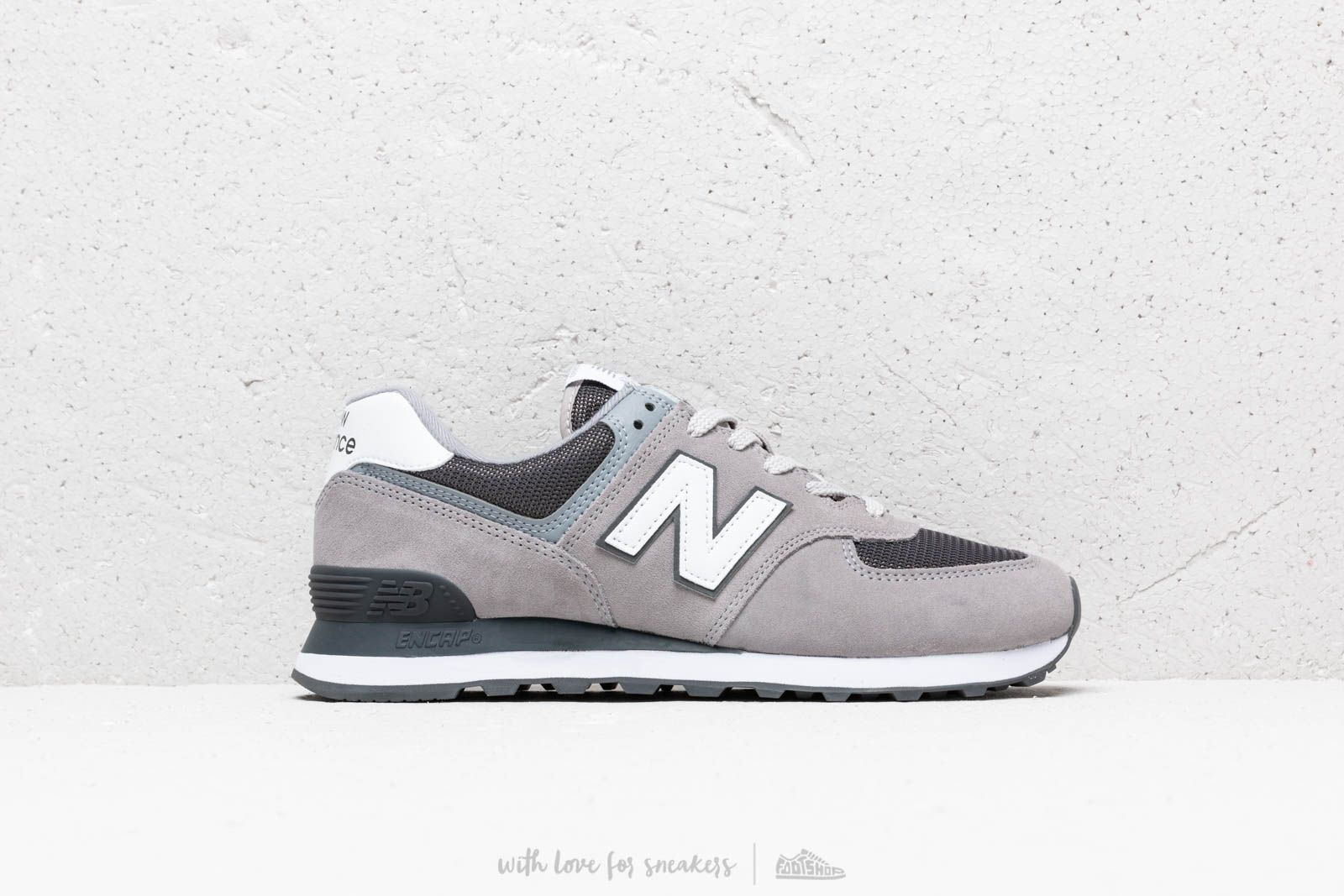 more photos e15d6 f7d0b New Balance 574 Grey/ White | Footshop