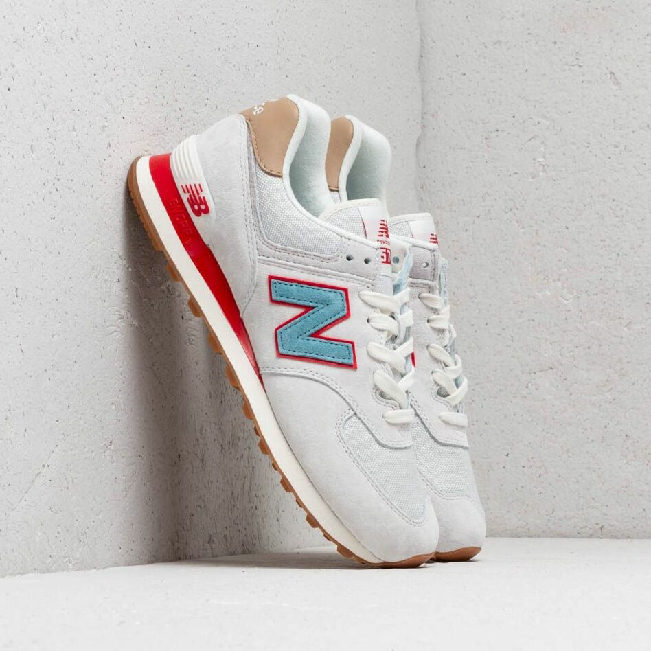 New Balance 574 Grey/ Blue/ Red EUR 42.5