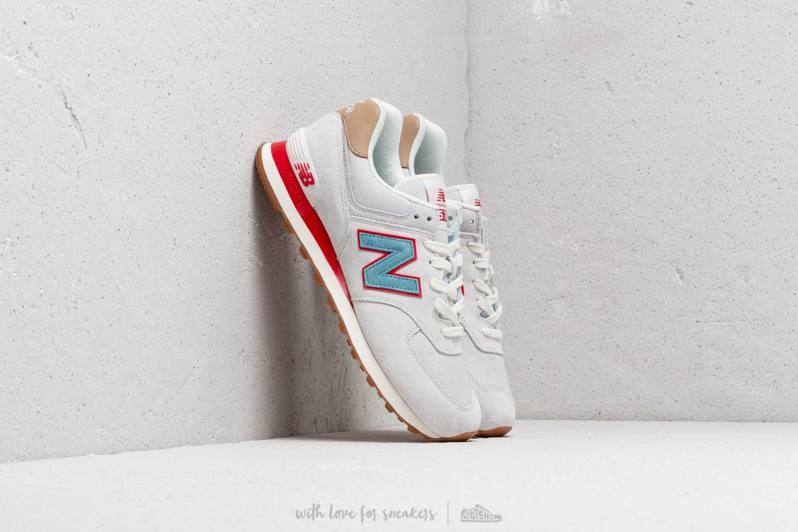 New Balance 574 Grey/ Blue/ Red at a great price 92 € buy at Footshop