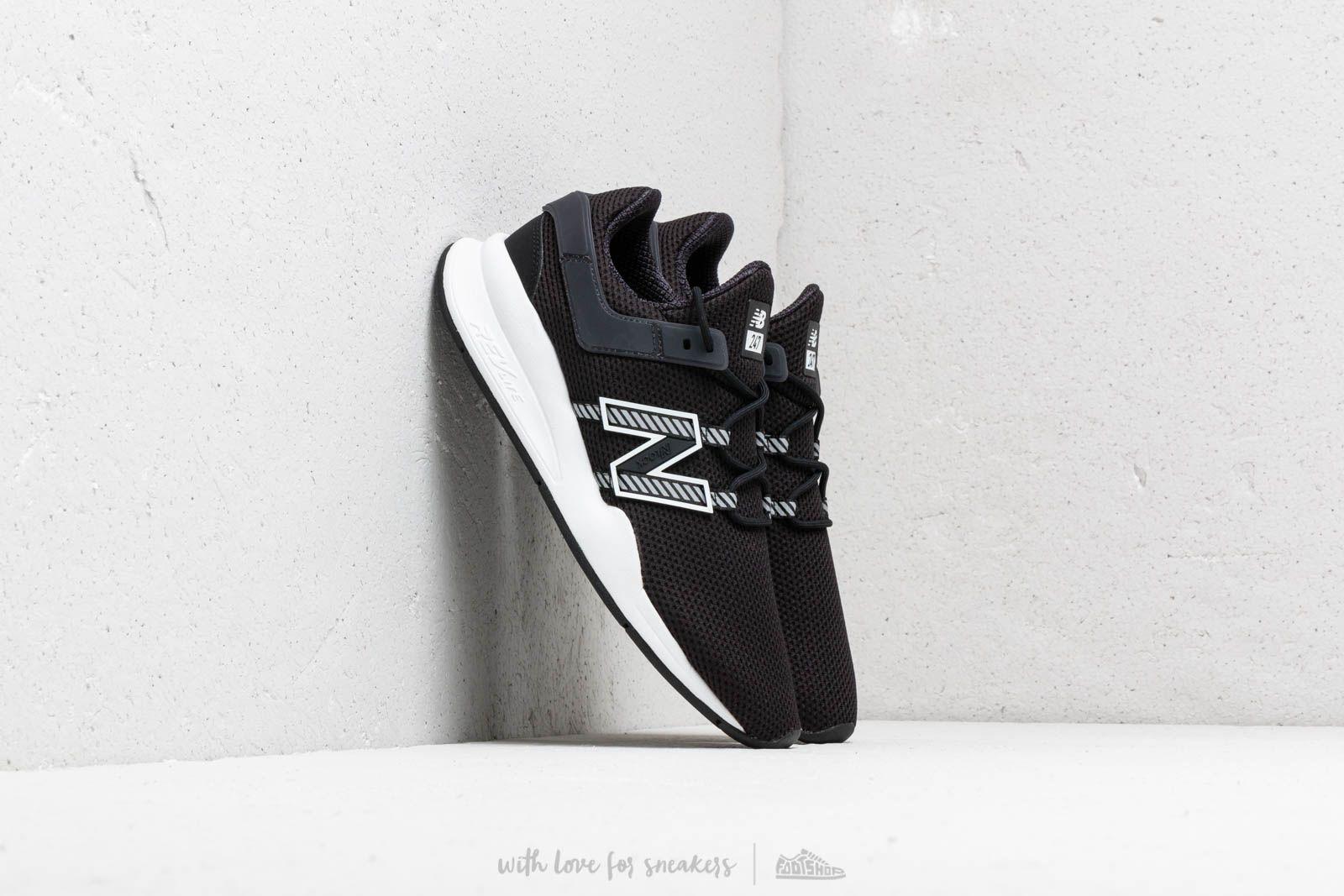 New Balance 247 Black White | Footshop