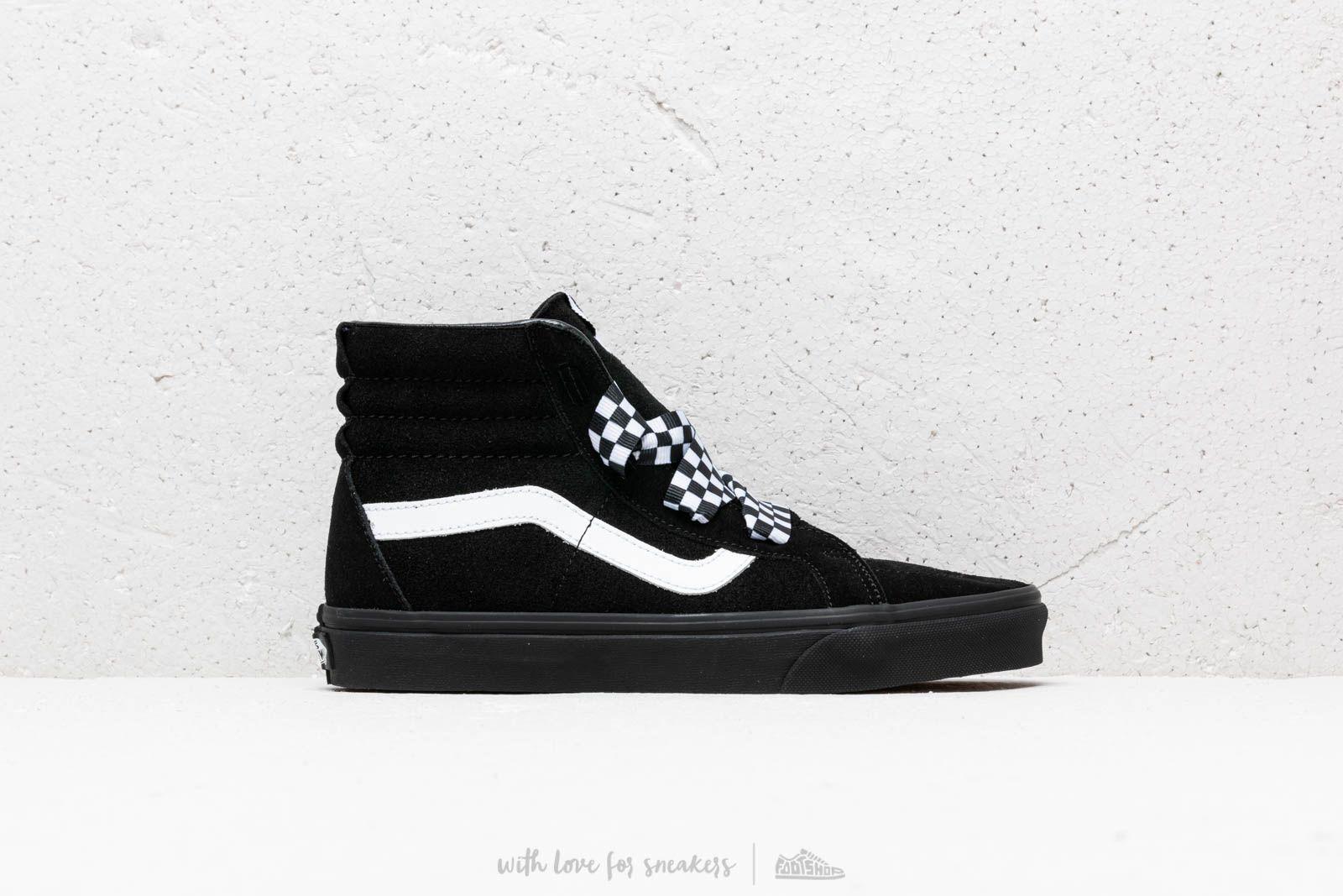 d8c574b771 Vans SK8-Hi Alt Lace (Check Wrap) Black  Black at a great