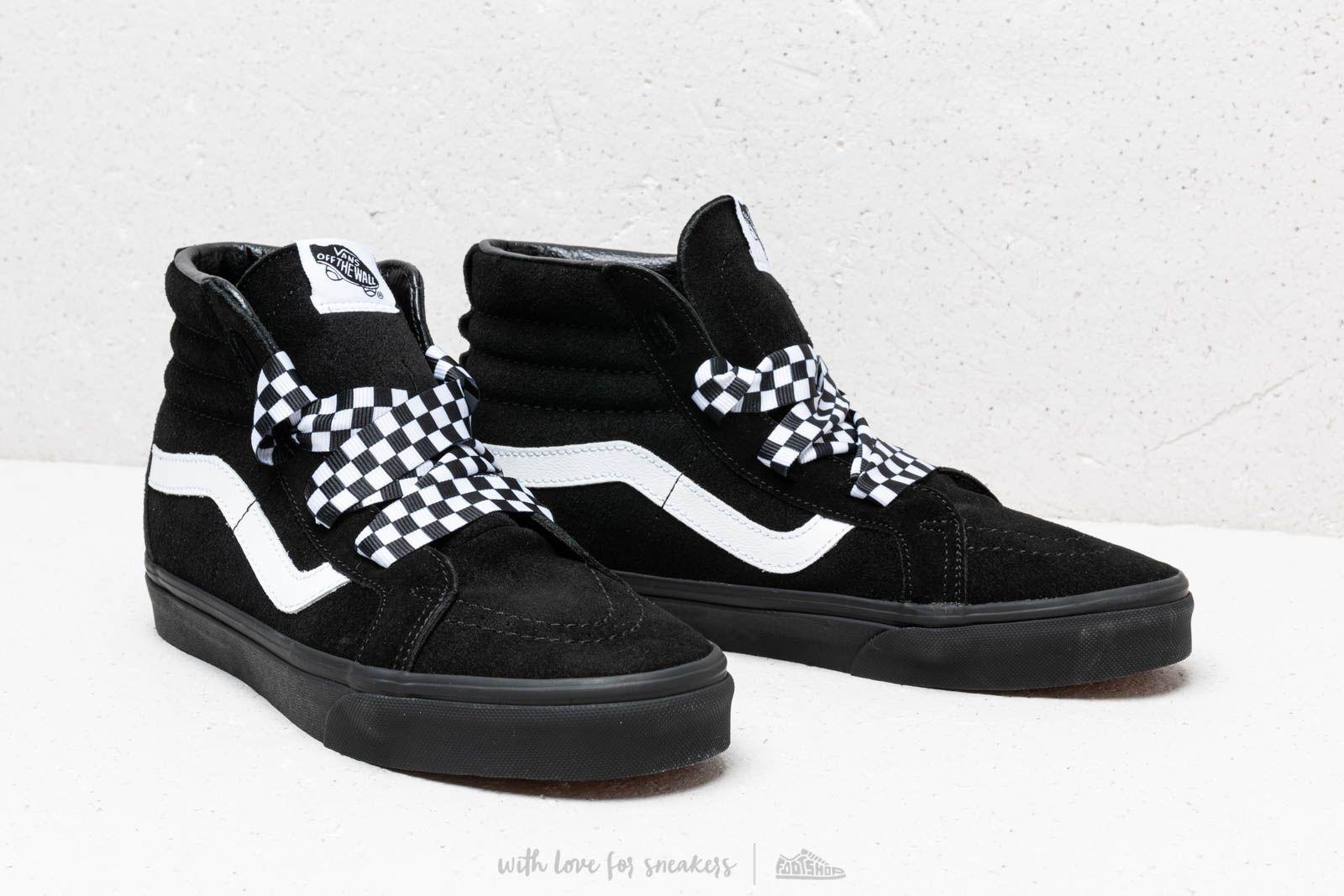 Wrap Sk8 Hi Vans Footshop check Black Alt Lace vX7WBWTqd ef9ee98e988f