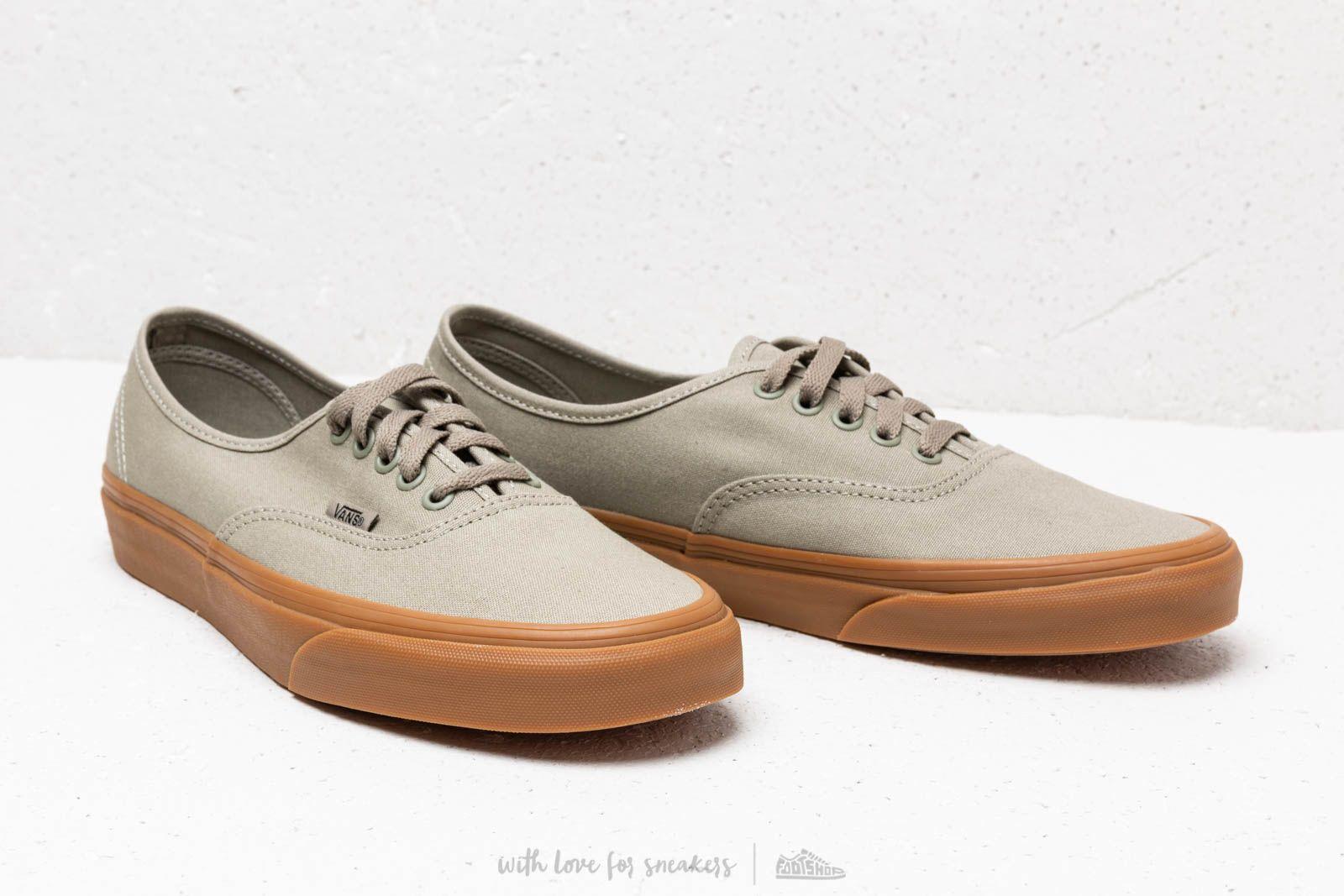 shoes Vans Authentic Laurel Oak/ Gum