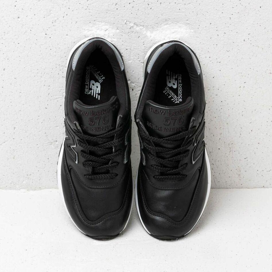 New Balance 576 Black/ White