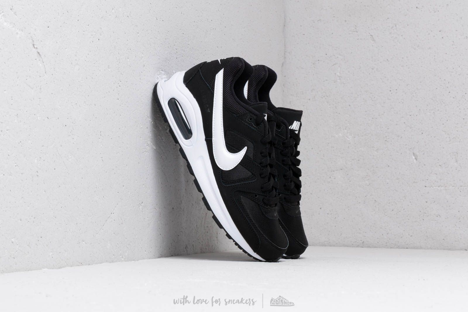 e74d95b33bf69 Nike Air Max Command Flex (GS) Black  White-White