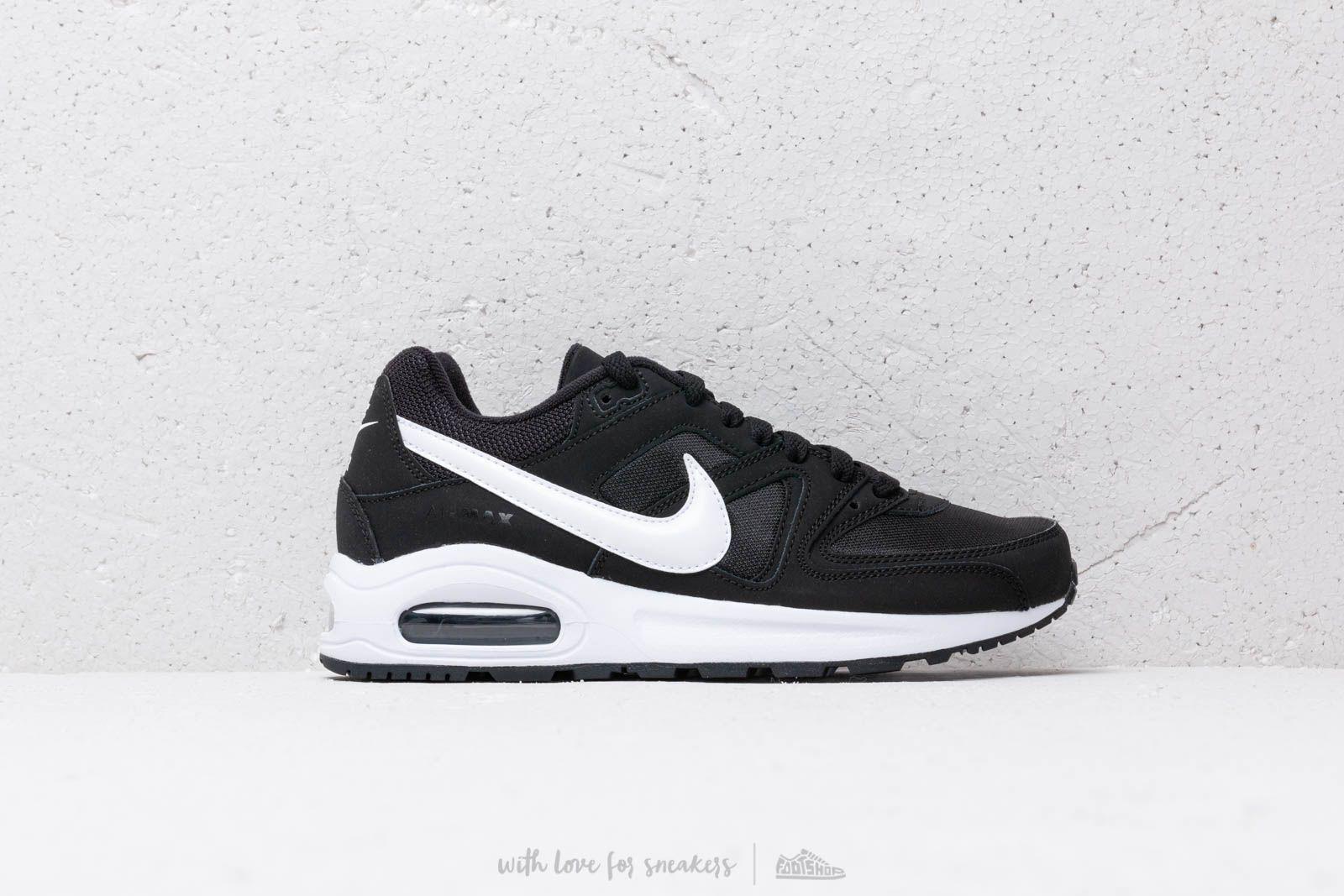 Nike Air Max Command Flex (GS) Black White White | Footshop