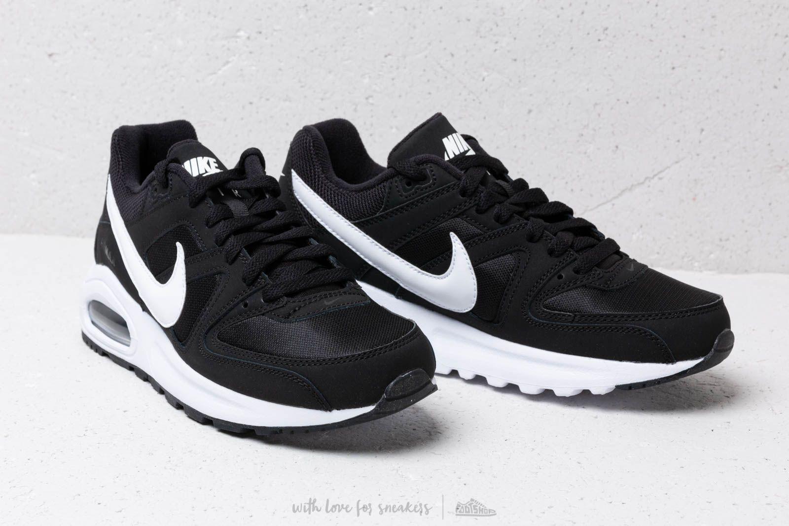 ab3f10546d5878 Nike Air Max Command Flex (GS) Black  White-White at a great