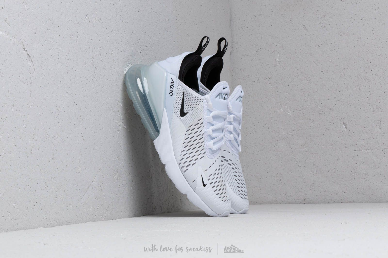 Nike Air Max 270 (GS) White/ Black-White