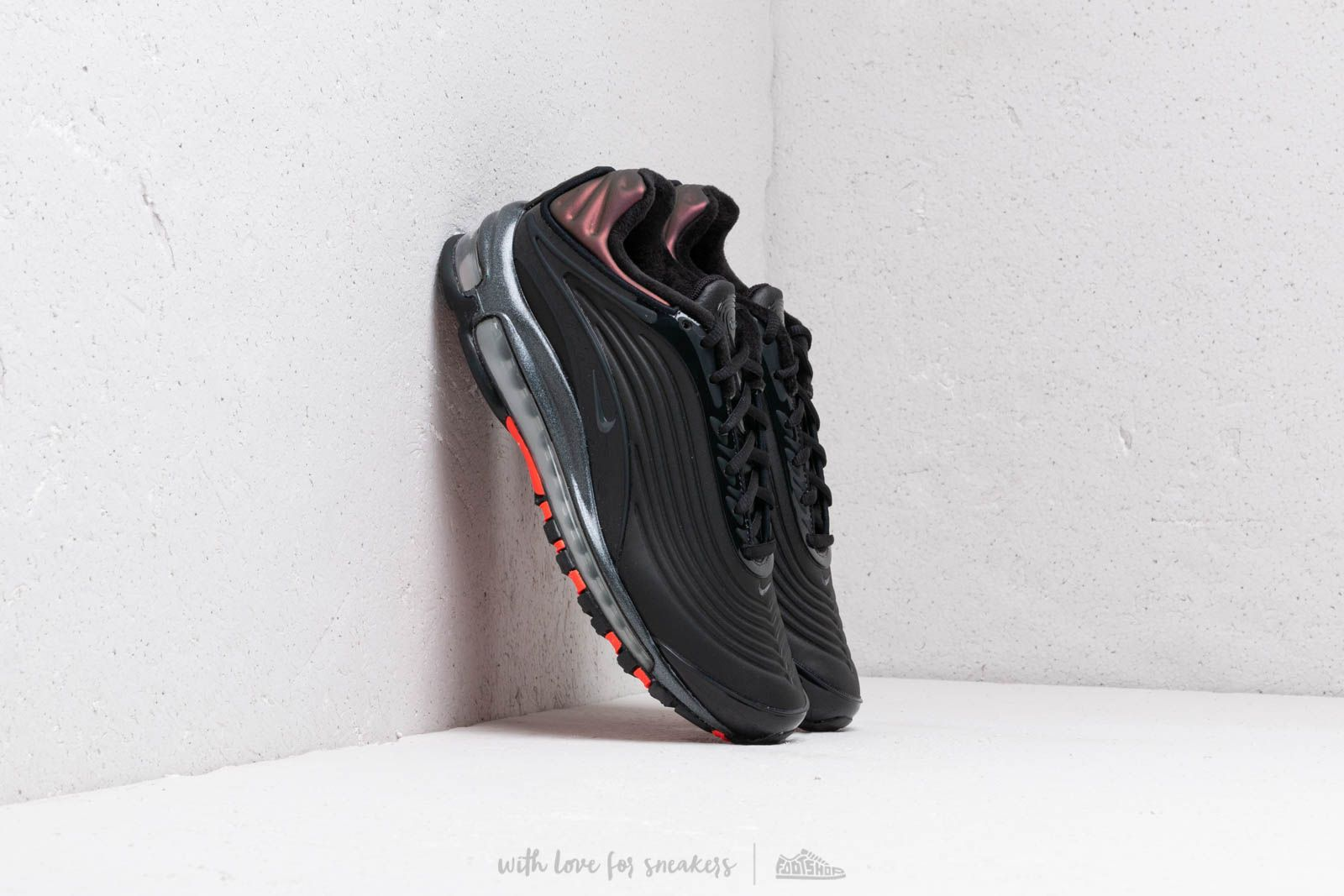 Men's shoes Nike Air Max Deluxe Se Black/ Anthracite-Bright Crimson