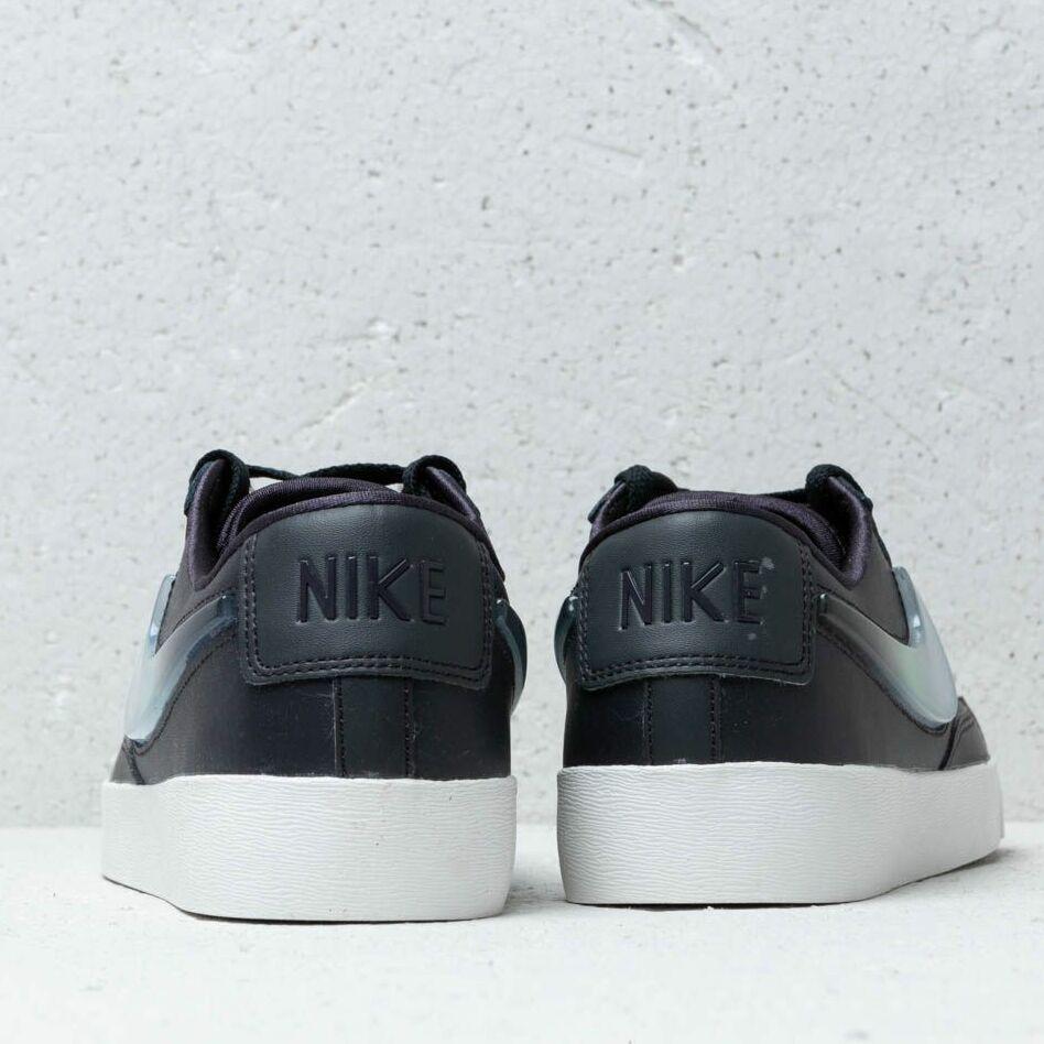 Nike W Blazer Low LX Oil Grey/ Bright Crimson-Summit White, Gray