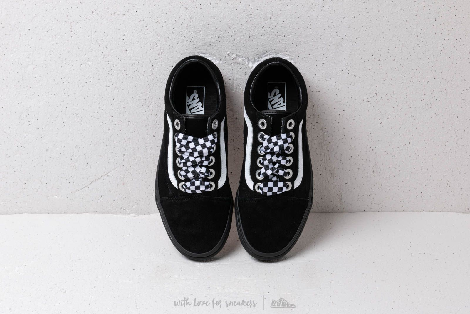 Old Skool VN0A38G1VR11 (Check Lace) BlackBlack Zapatillas
