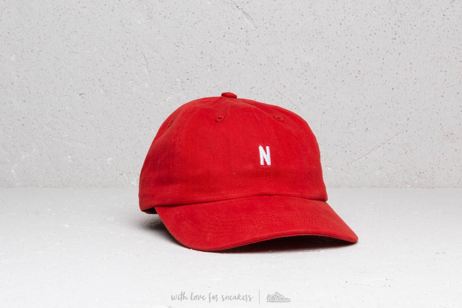 bcc70ac244b Norse Projects Twill Sports Cap Askja Red at a great price 61 € buy at  Footshop
