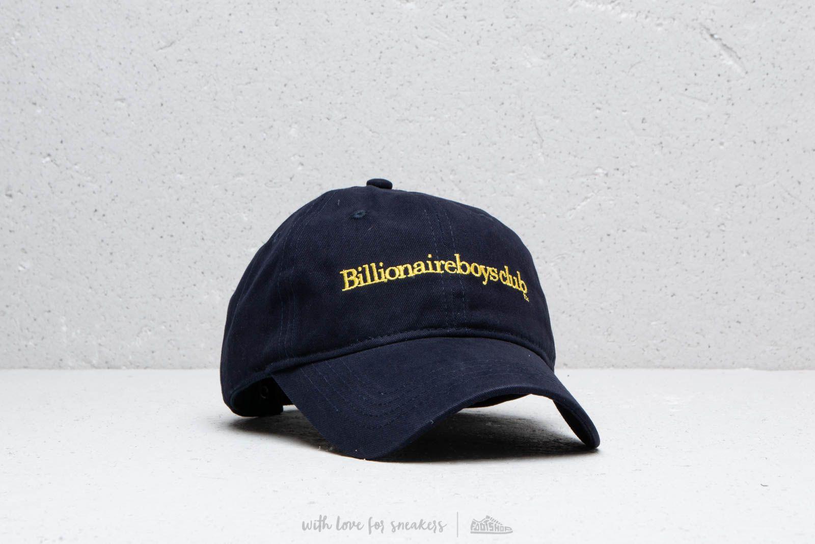 b5faf1134d7 Billionaire Boys Club Embroidered Curved Visor Cap Navy a muy buen precio  71 € comprar en