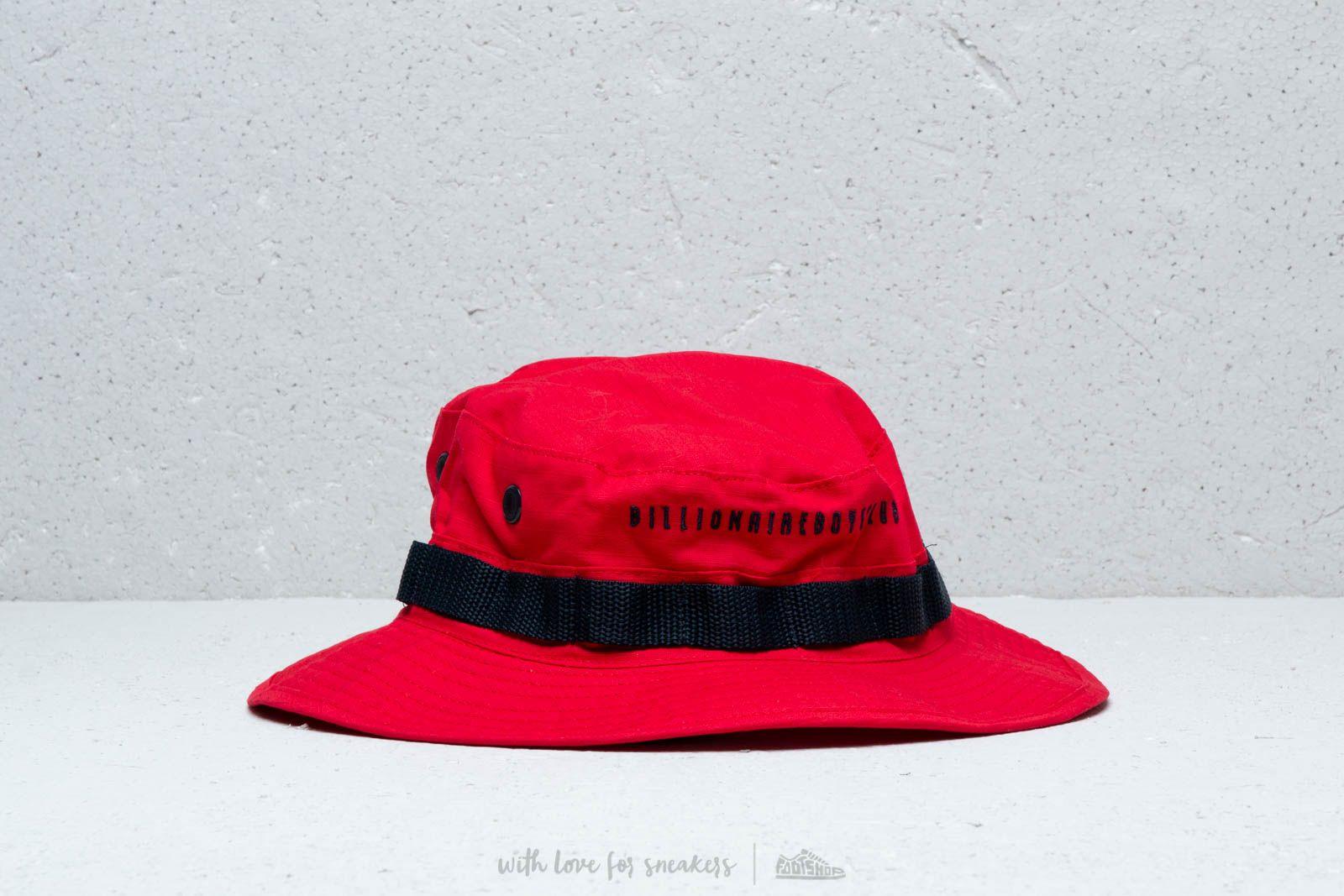 Billionaire Boys Club Boonie Hat Red