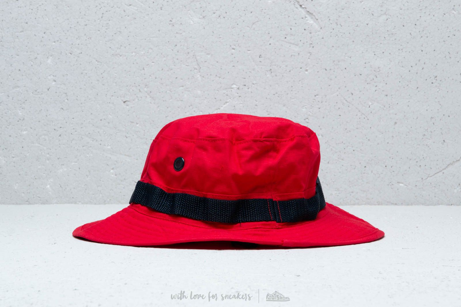 Billionaire Boys Club Boonie Hat Red at a great price £73 buy at Footshop eae3ff6e4824