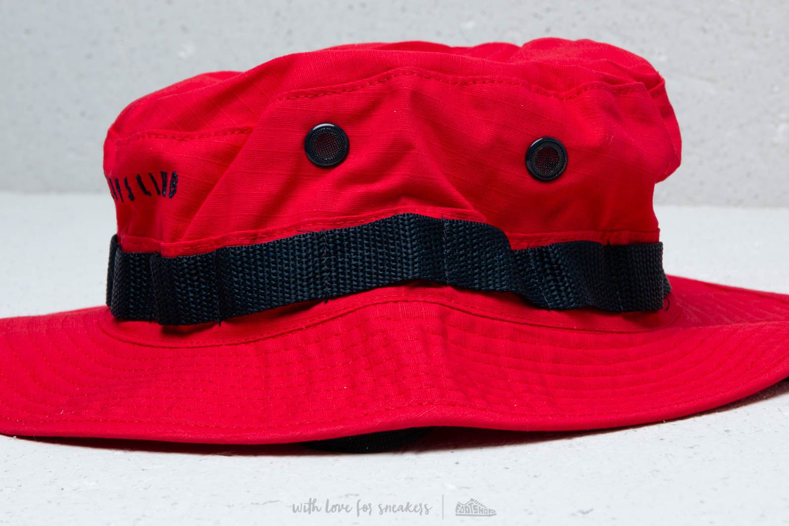 Billionaire Boys Club Boonie Hat Red at a great price 84 € buy at Footshop cbc544d9856