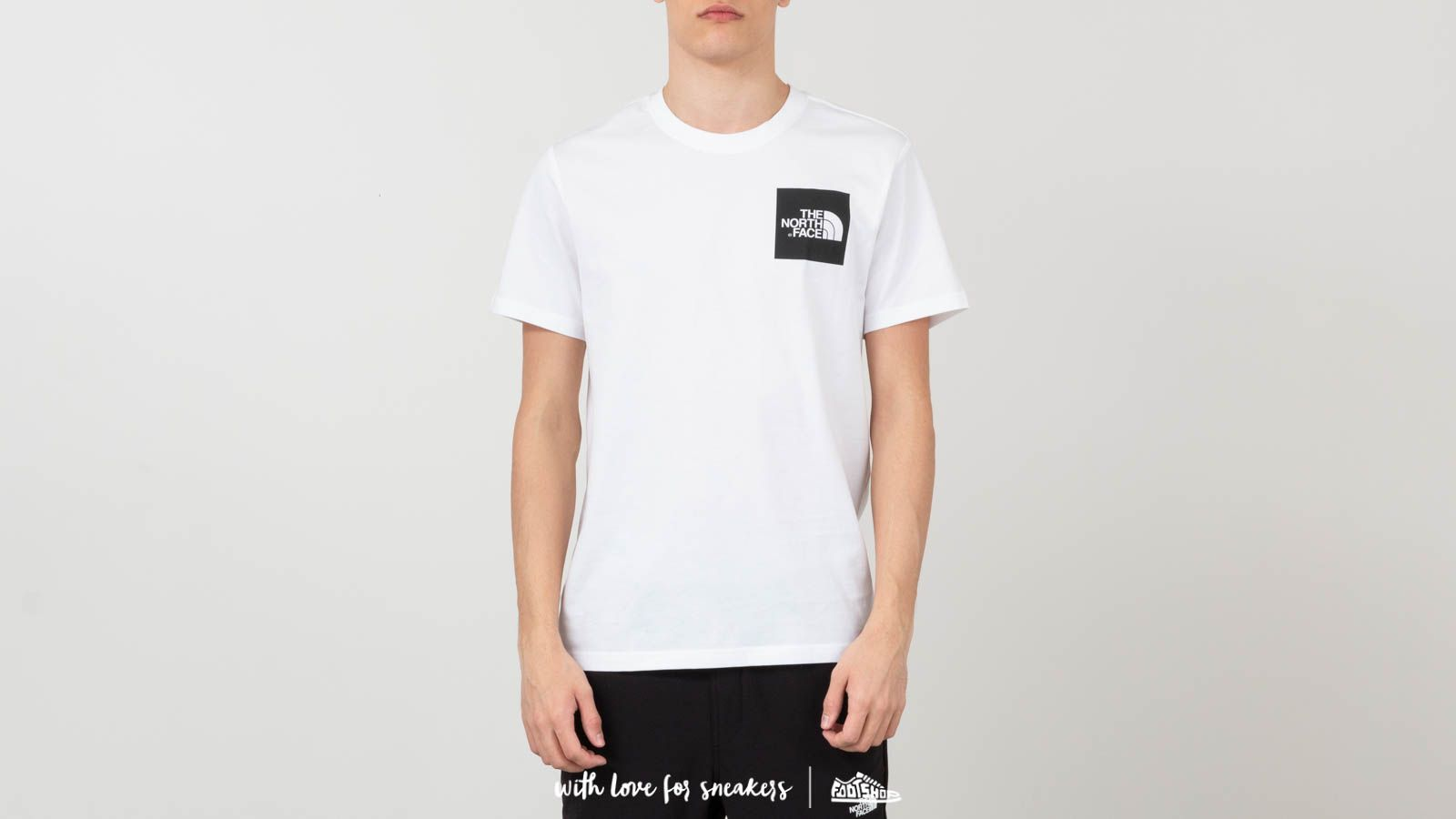Ανδρικά ρούχα The North Face Shortsleeve Tee Tnf White