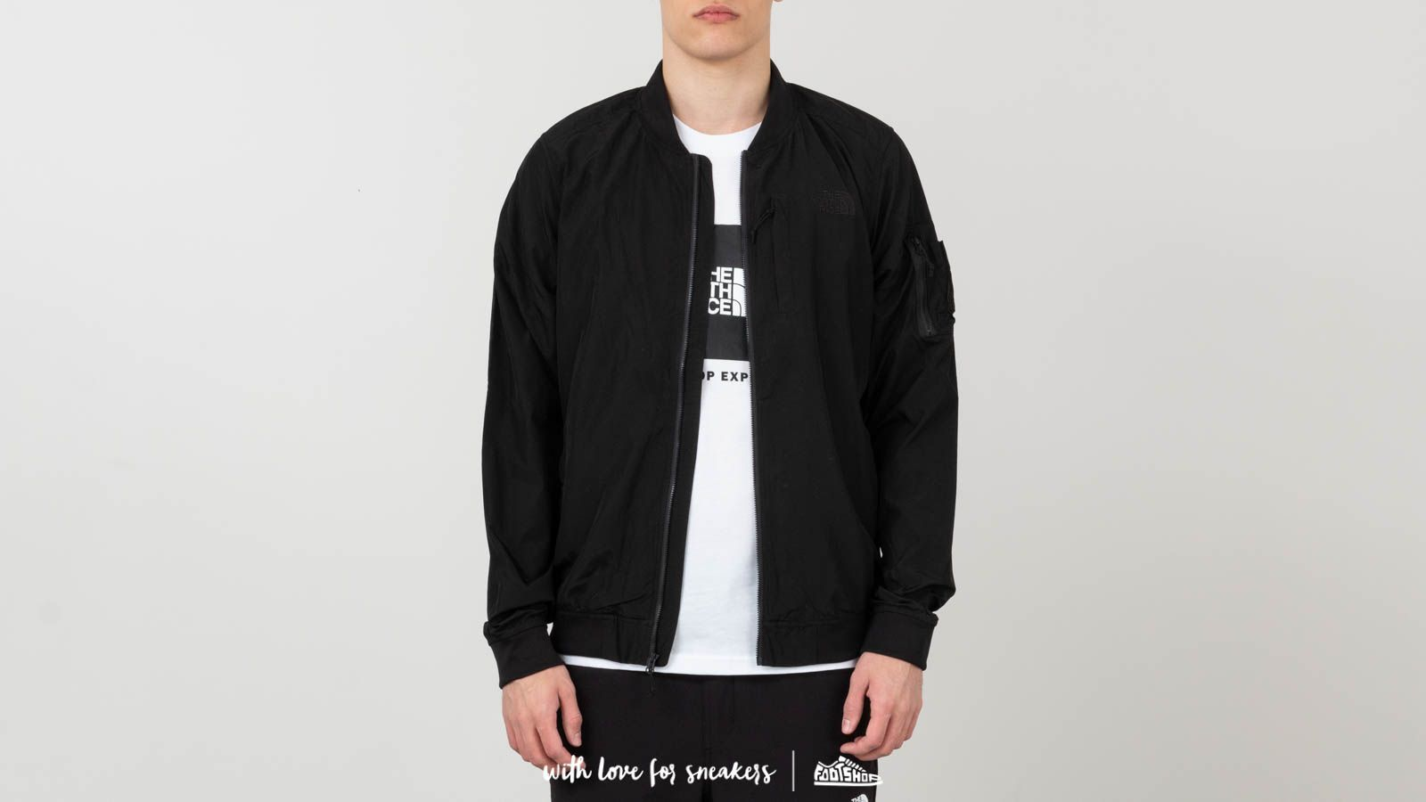 Dzsekik és kabátok The North Face Meaford Bomber Jacket Black