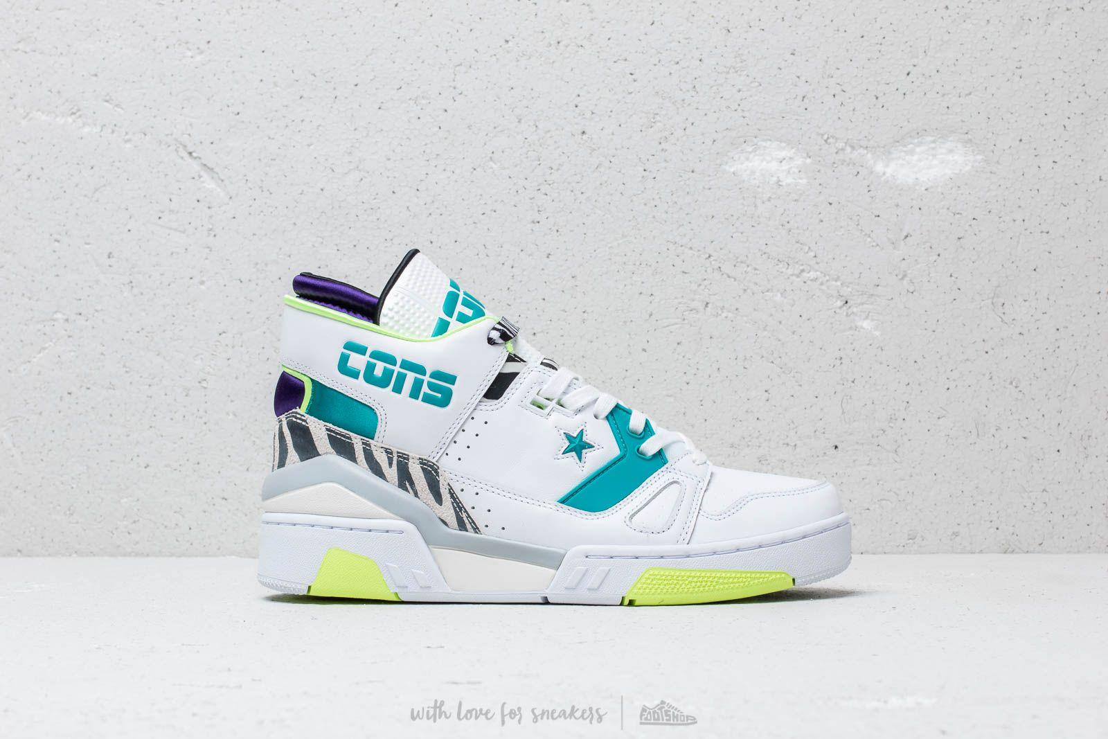Converse x Don C ERX 260 Mid White Rapid Teal Court Purple | Footshop