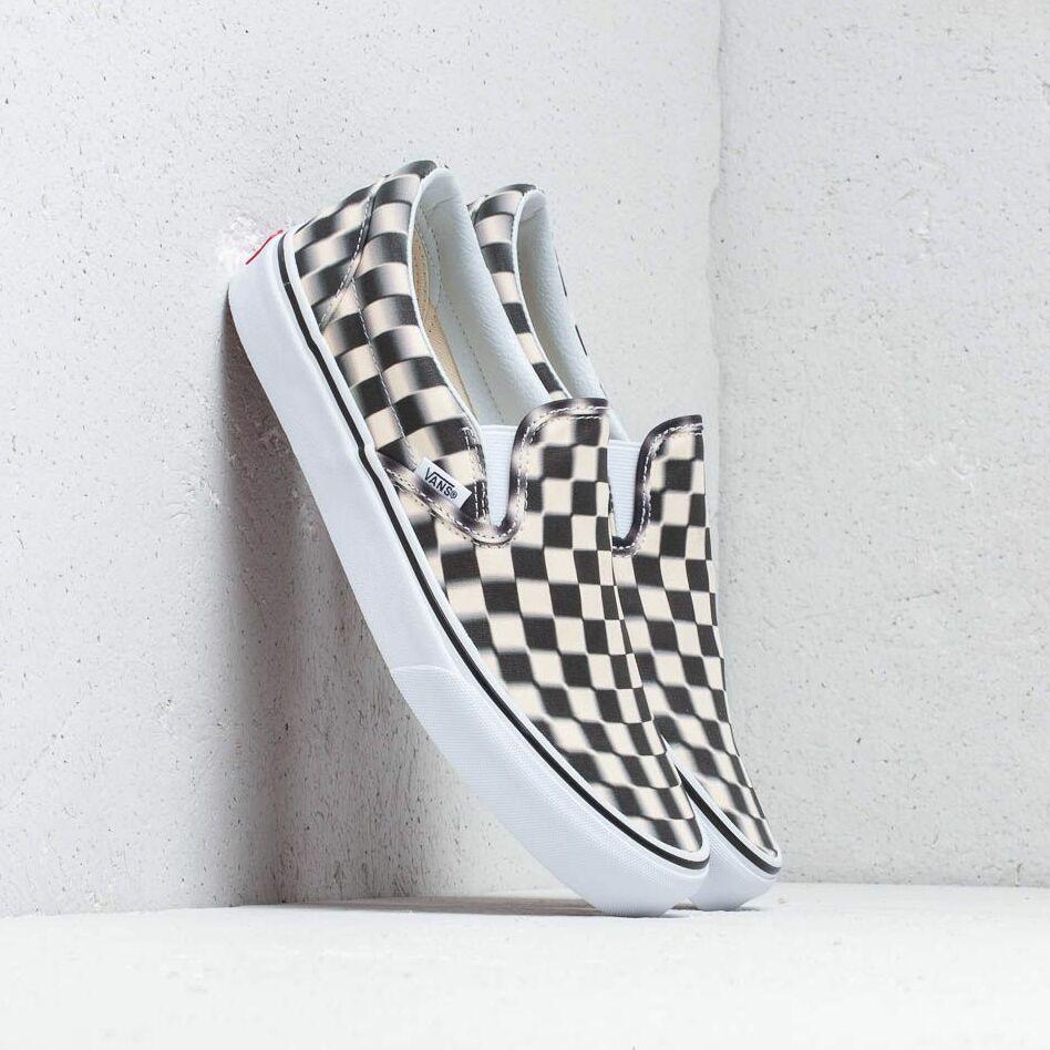 Vans Classic Slip-On (Blur Check) Black/ Classic EUR 38