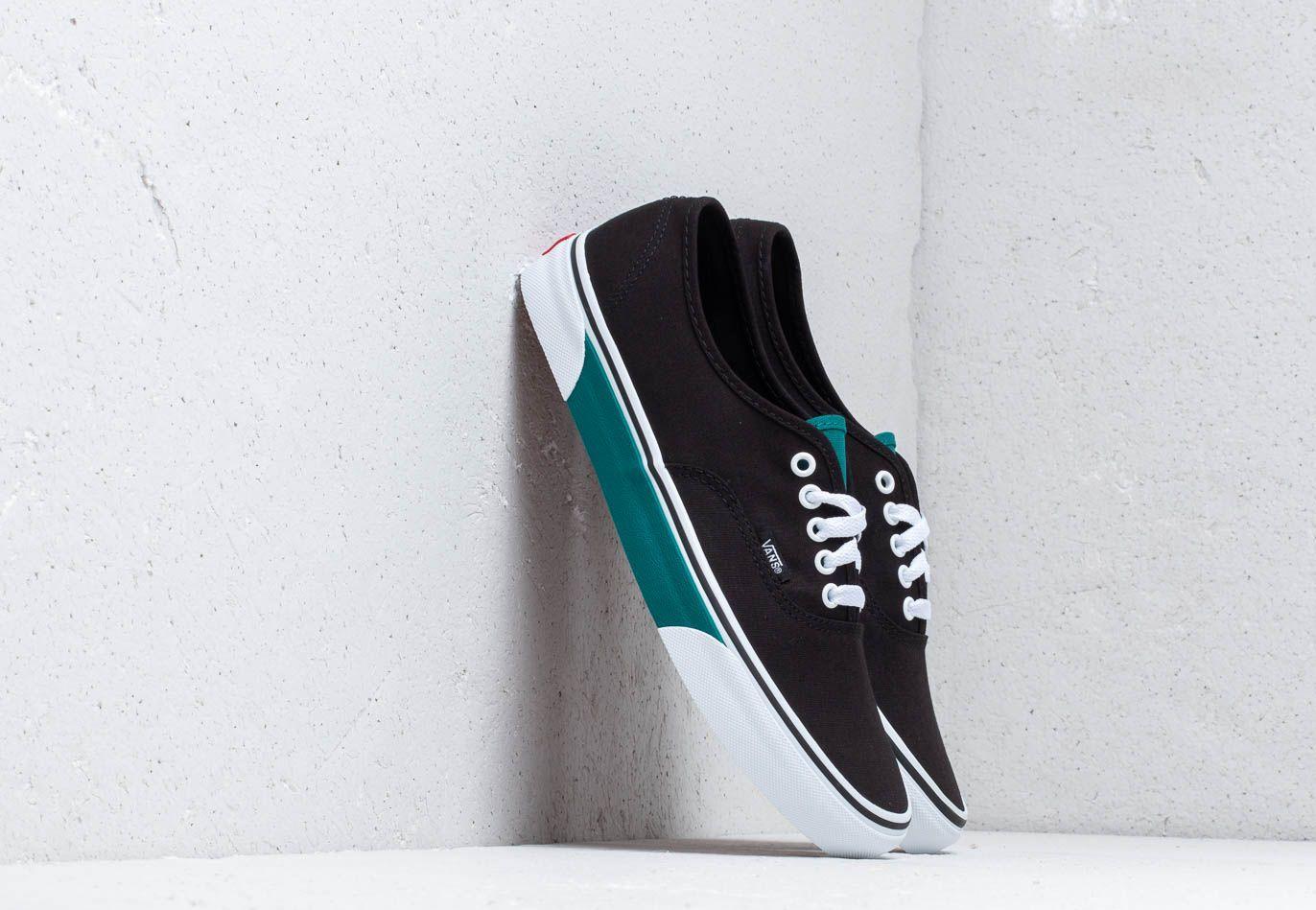Vans Authentic (Color Block) Black/ Quetz EUR 44.5