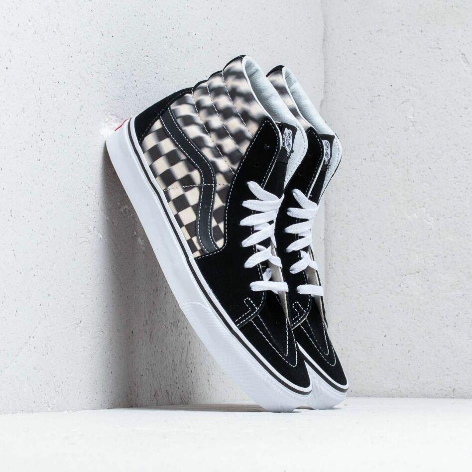 Vans SK8-Hi (Blur Check) Black/ Classic EUR 36.5