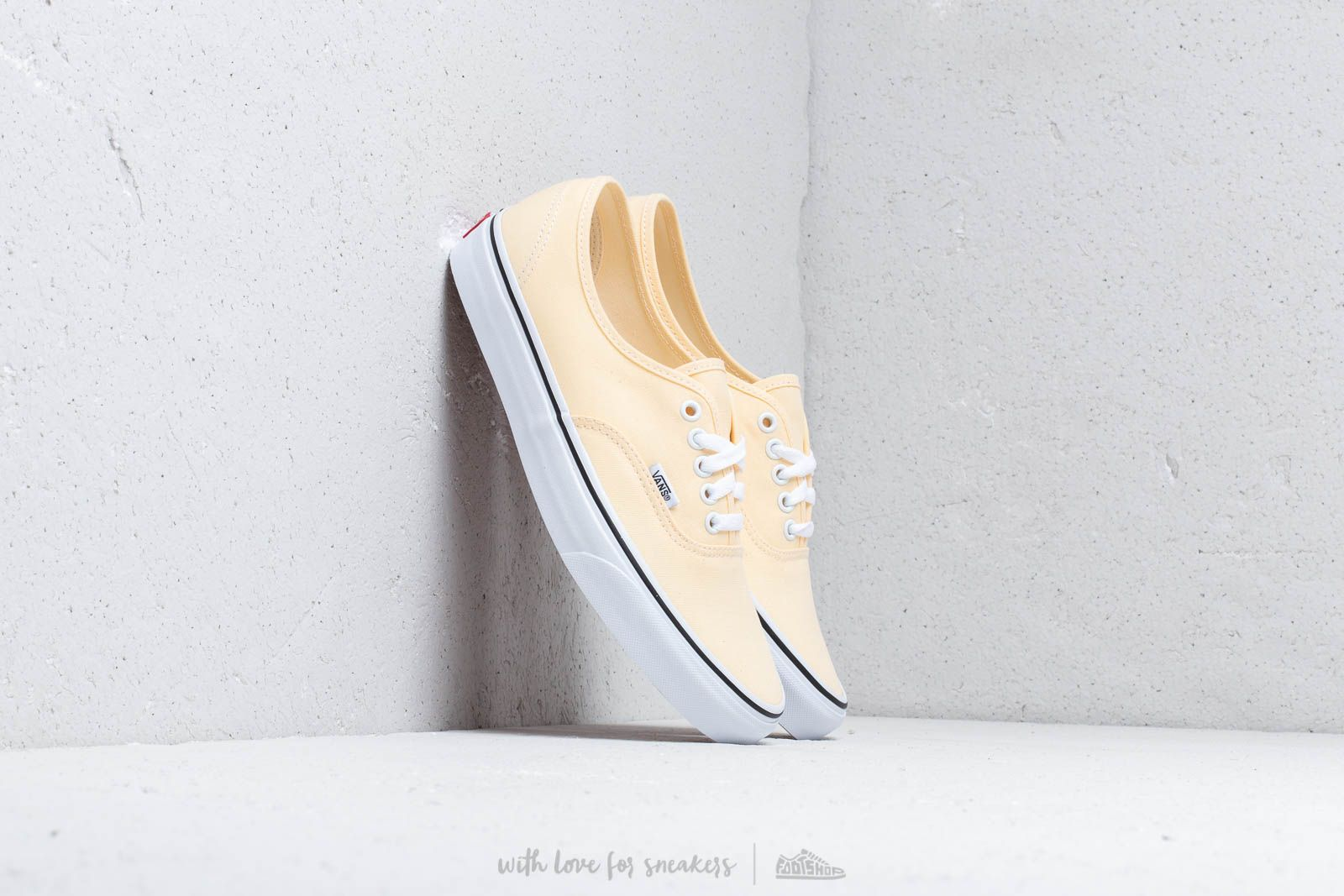 Herenschoenen Vans Authentic Vanilla Custard/ True White