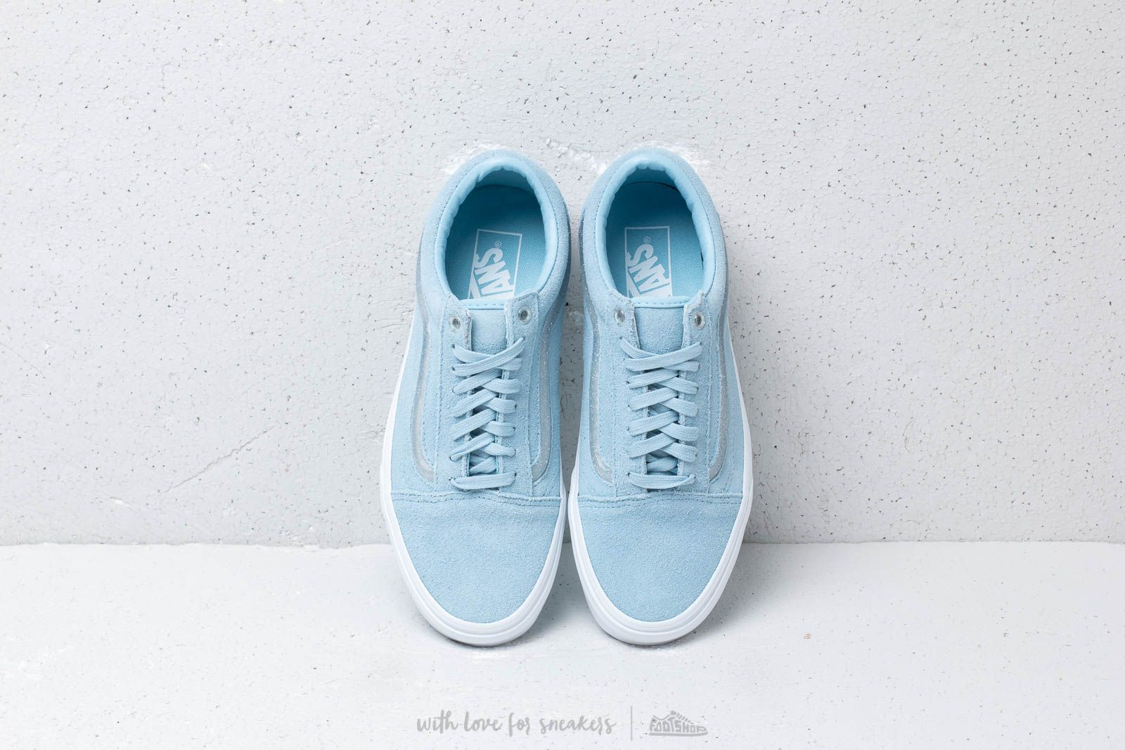 7f2d423f08df Vans Old Skool (Jelly Sidestripe) Cool Blue at a great price £64 buy