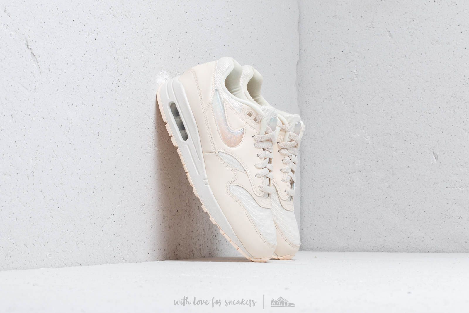 4c69768f5116 Nike W Air Max 1 Jp Pale Ivory  Summit White-Guava Ice at a