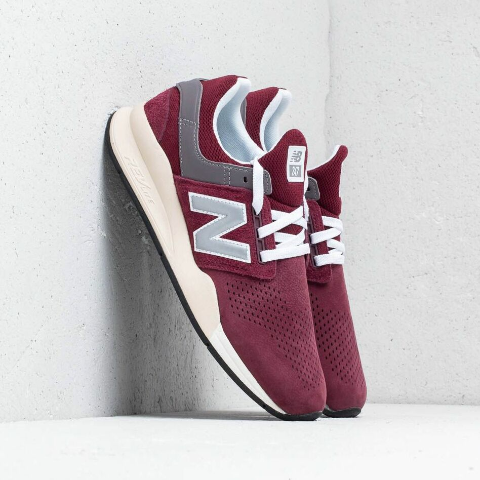 New Balance 247 Burgundy/ Beige