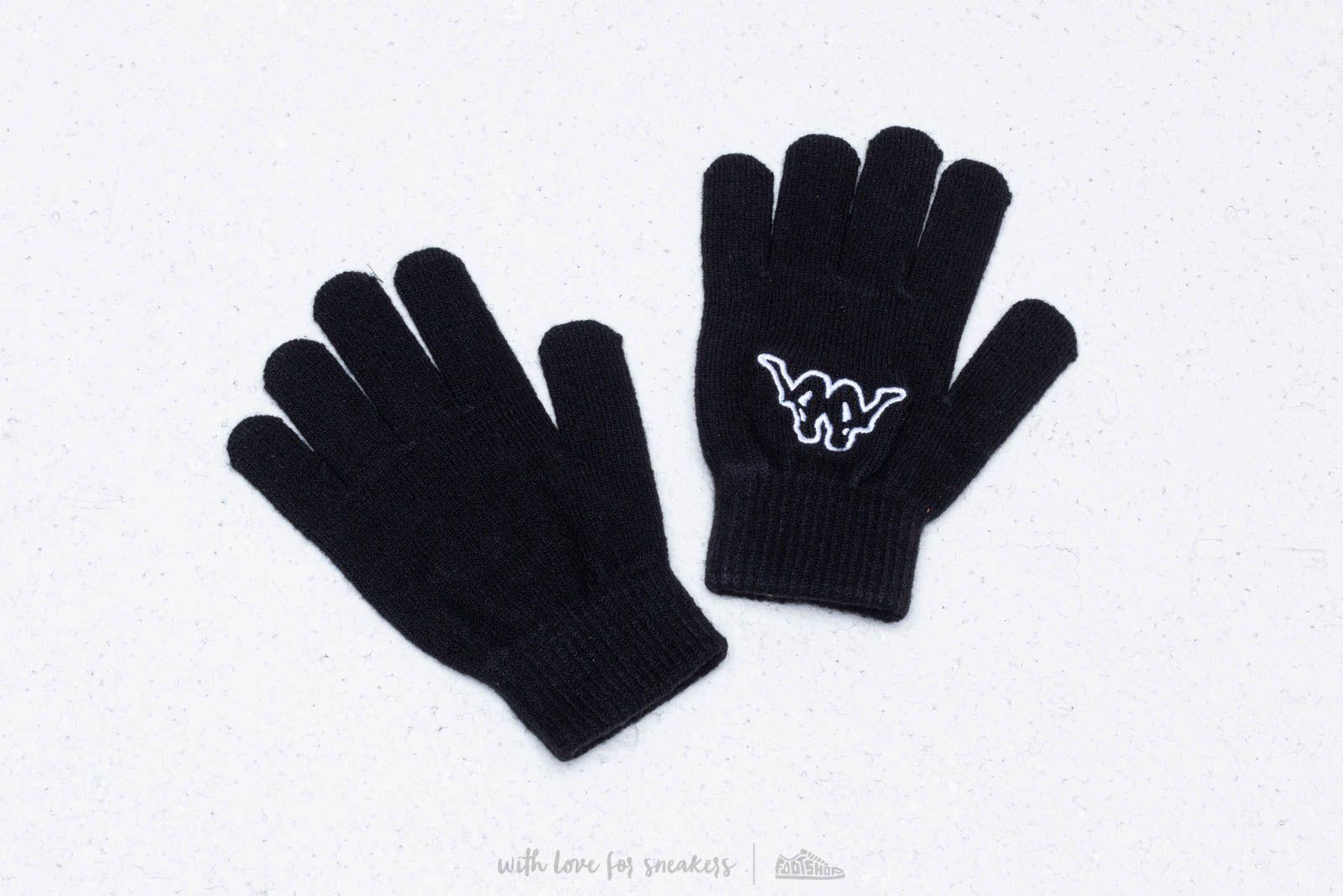 Kappa Logo Foplane Gloves Black za skvělou cenu 299 Kč koupíte na Footshop.cz