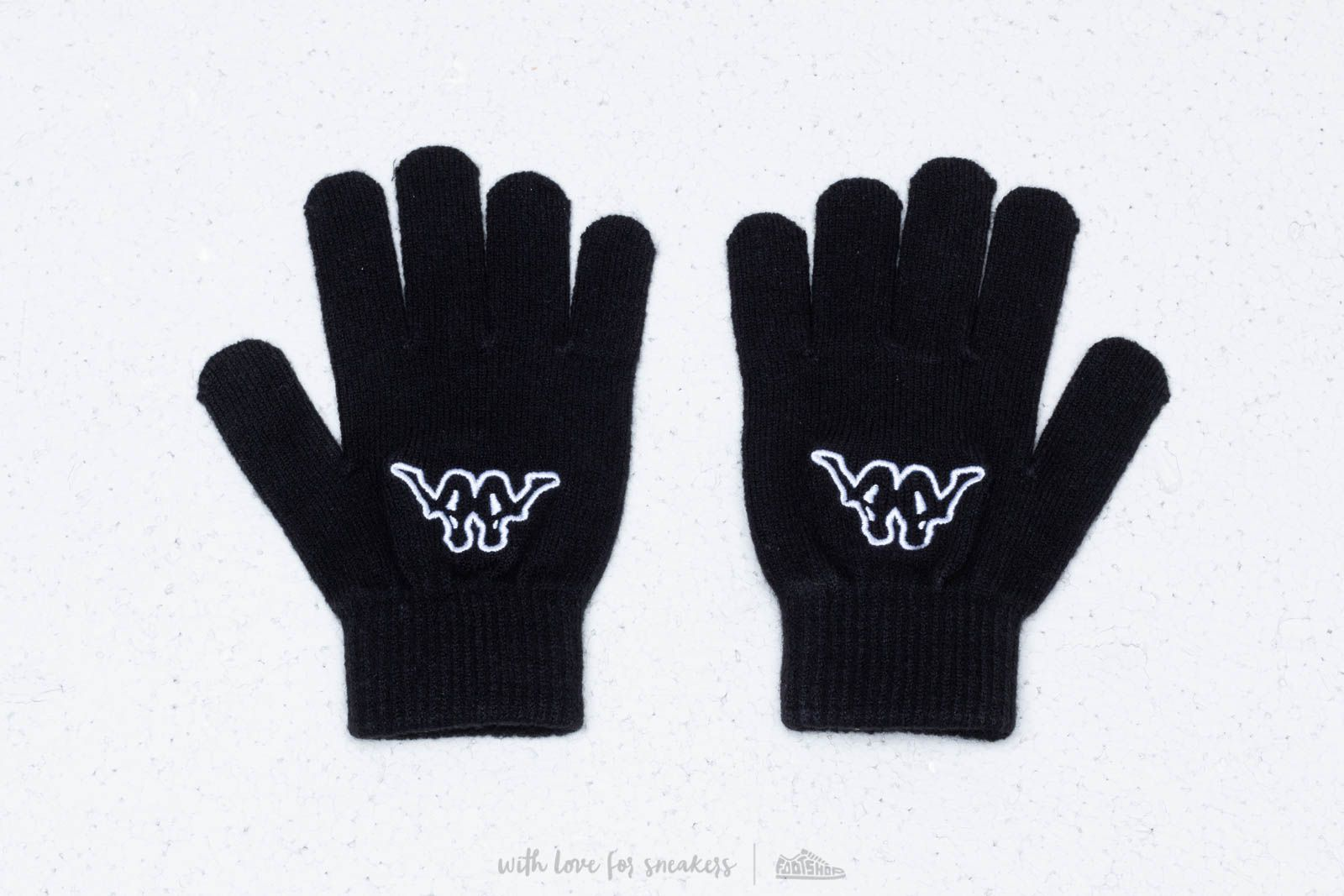 112a79721ad Kappa Logo Foplane Gloves Black at a great price 12 € bestell bei Footshop