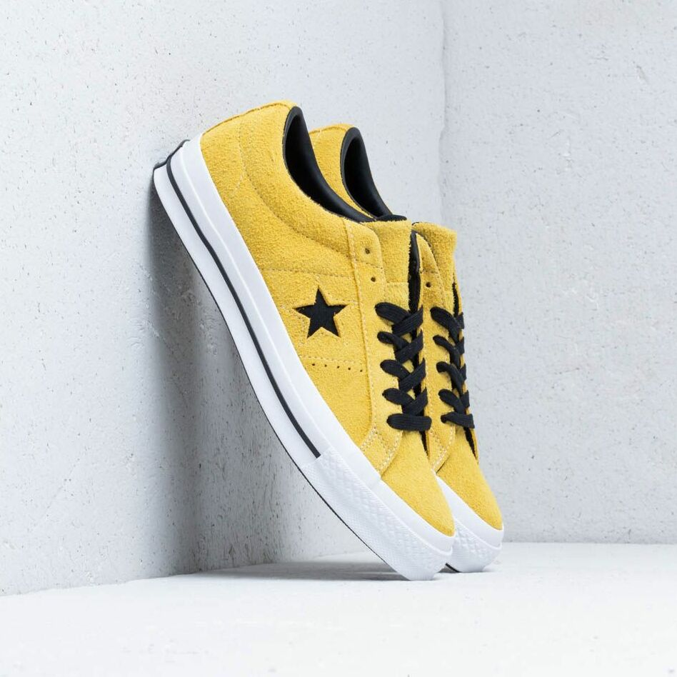 Converse One Star OX Bold Citron/ Black/ White EUR 42.5