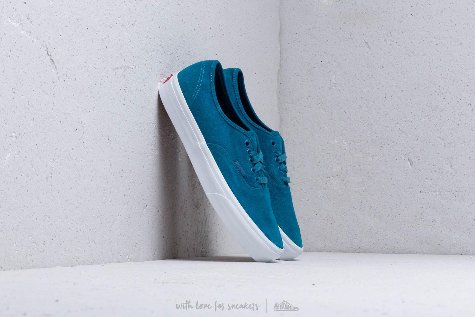 Vans Vans Authentic Soft Suede Blue | Grailed