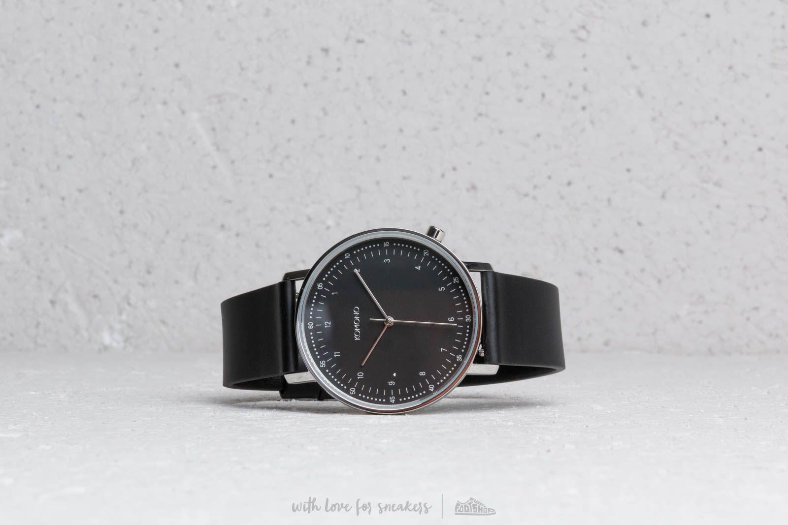 Komono Lewis Black/ Silver za skvelú cenu 136 € kúpite na Footshop.sk