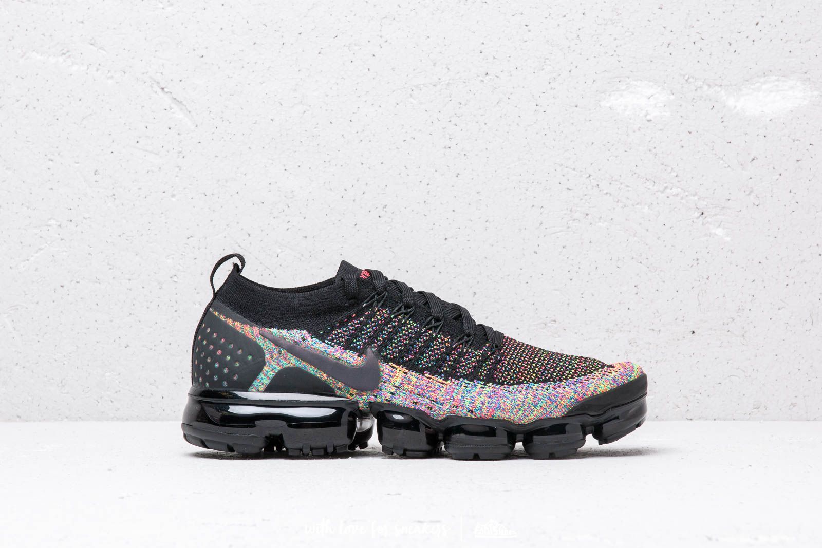 89d635fb5fa4f Nike Air Vapormax Flyknit 2 Black  Black-Racer Pink-Racer Blue at a