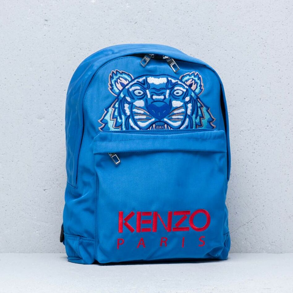 KENZO Large Tiger Backpack Blue