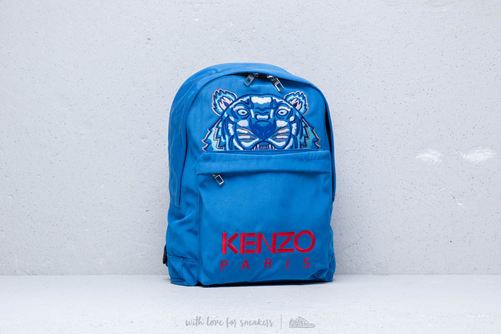 KENZO Large Tiger Backpack Blue at a great price 205 € buy at Footshop