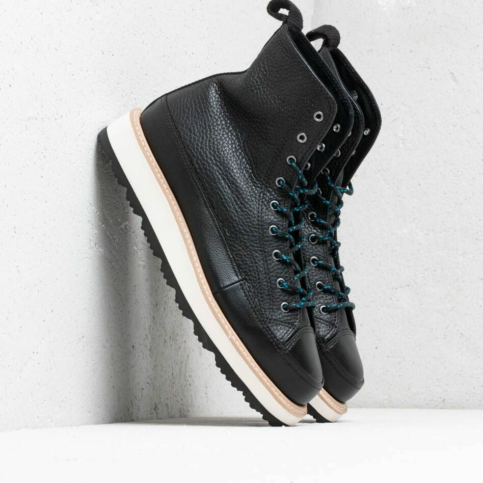 Converse Chuck Taylor Crafted Boot High Black/ Light Fawn/ Black