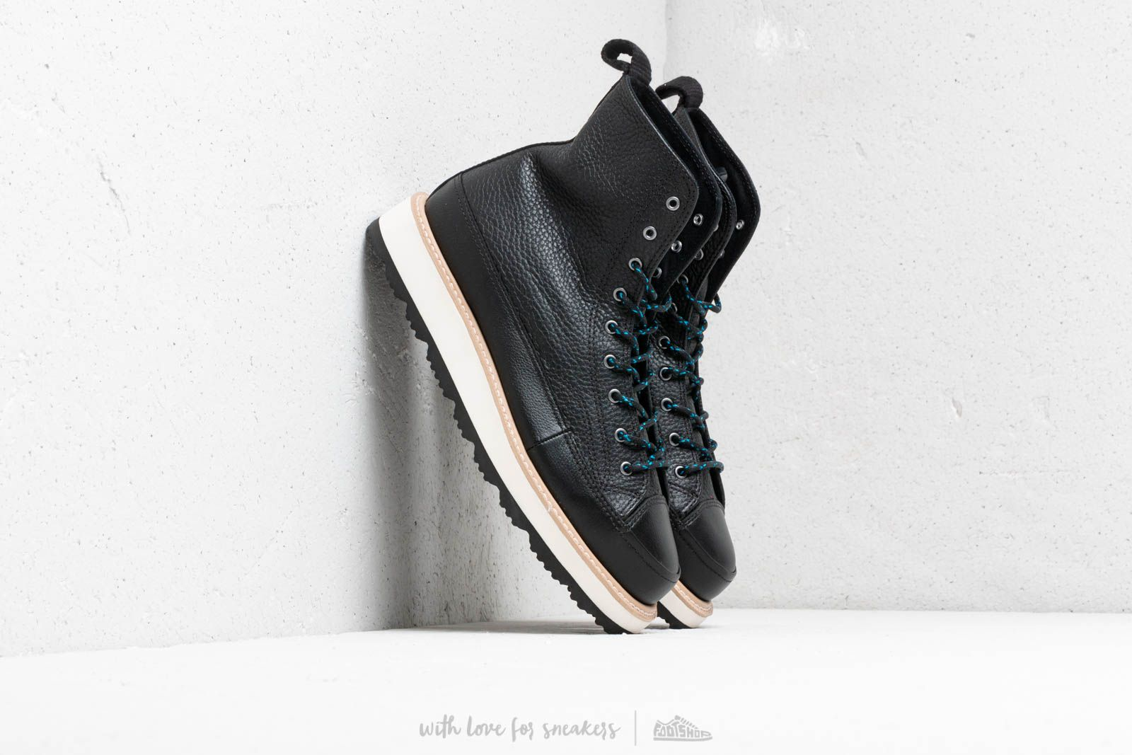 85058d9ff74d Converse Chuck Taylor Crafted Boot High Black  Light Fawn  Black at a great  price