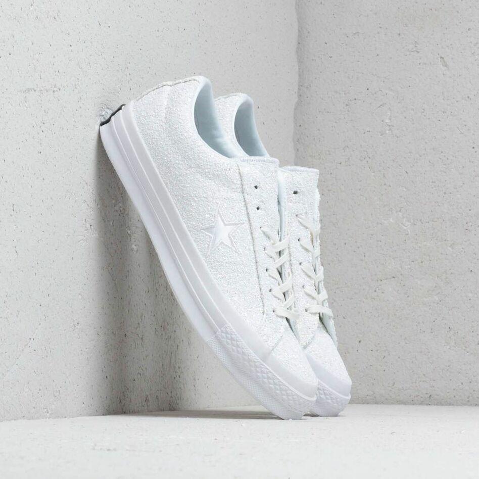 Converse One Star Ox White/ Silver/ White