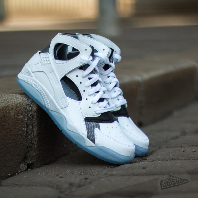 9e8d2a28368c Nike Air Flight Huarache White  Black-Cool Grey