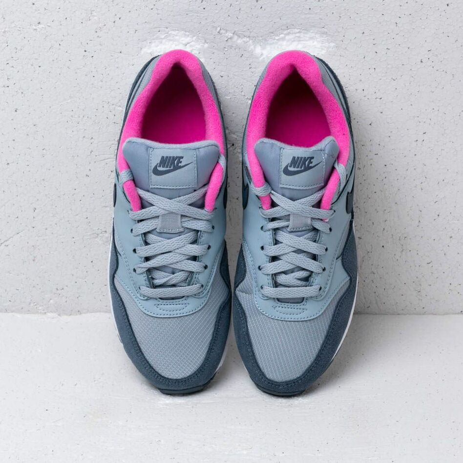 Nike Air Max 1 (GS) Obsidian Mist/ Monsoon Blue-Laser Fuchsia