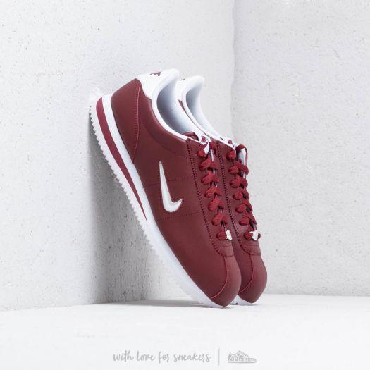 new style 60c4f b5dbc Nike Cortez Basic Jewel Dark Team Red/ White   Footshop