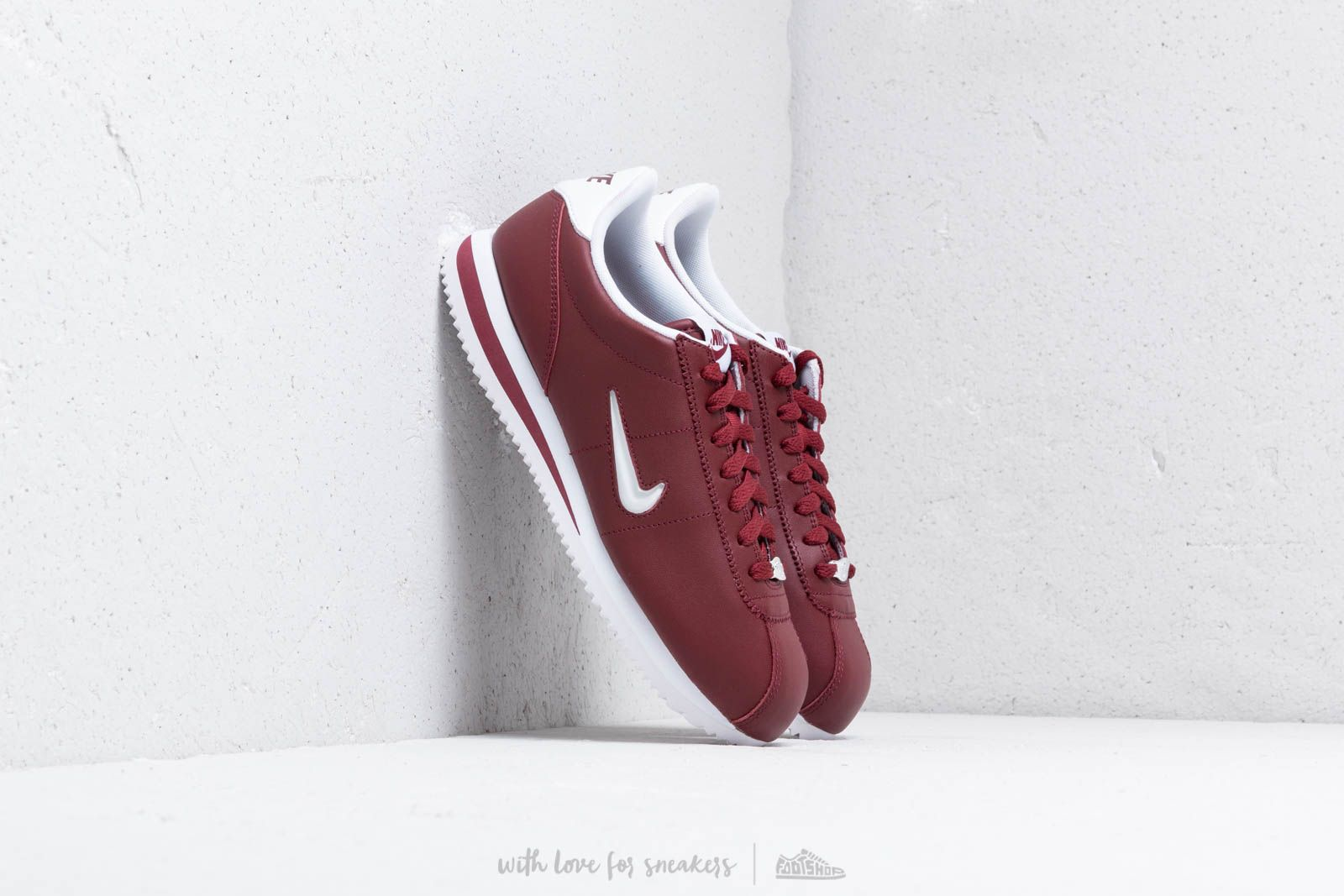 Nike Cortez Basic Jewel Dark Team Red  White at a great price 88 € buy e42d6e6a0a