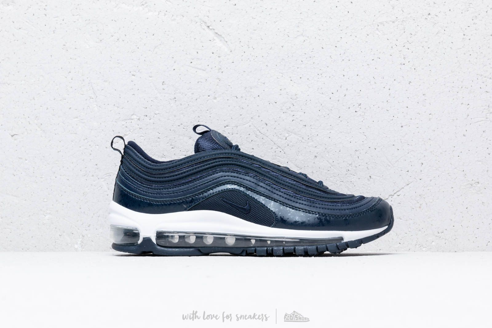 huge selection of a2b31 bb921 Nike Air Max 97 (GS) Obsidian  Obsidian-White au meilleur prix 132